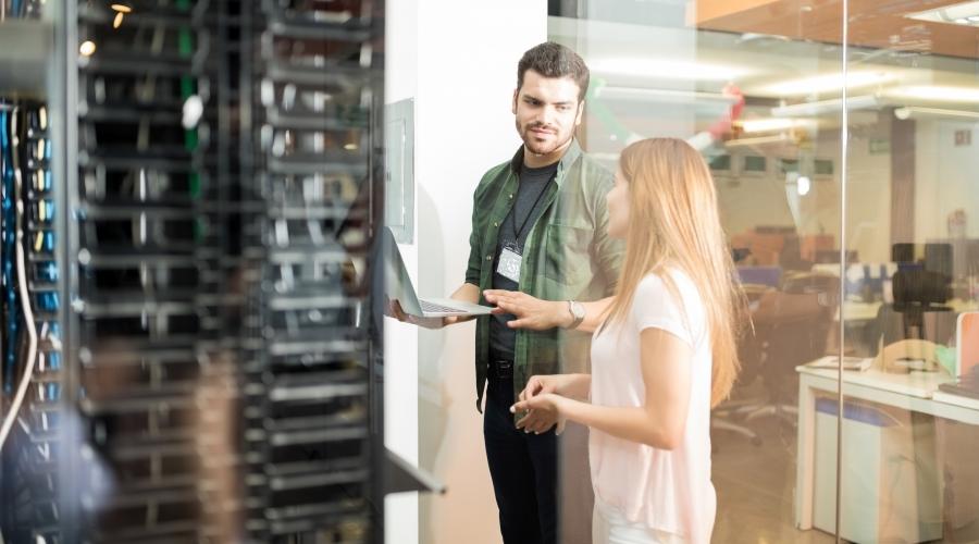 Controllo sicurezza CED centro elaborazione dati
